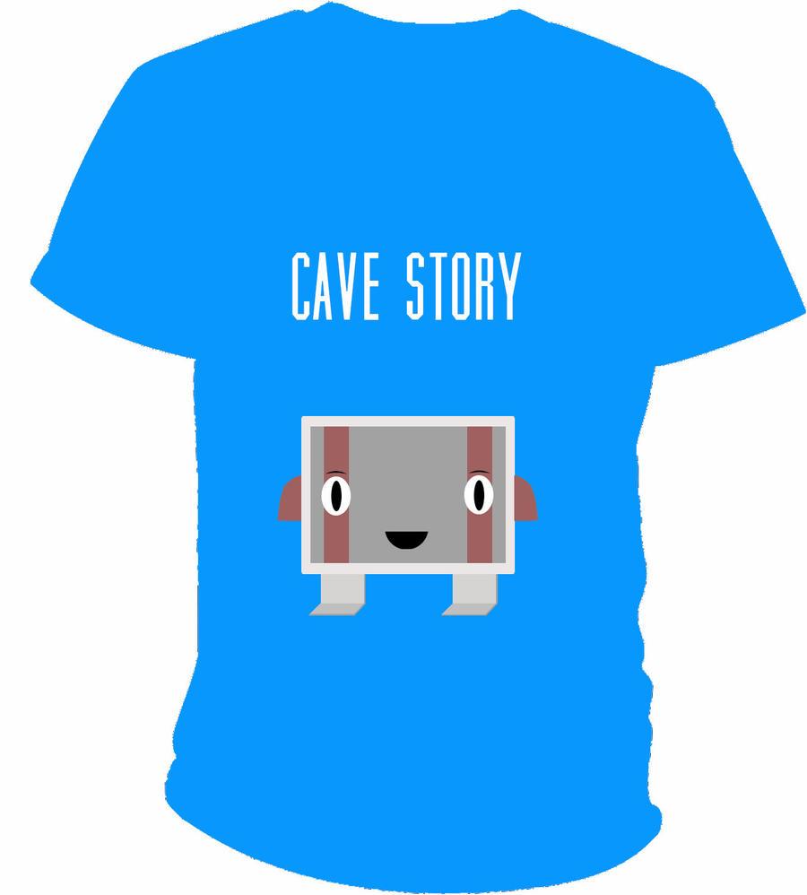 Cave Story Shirt Design