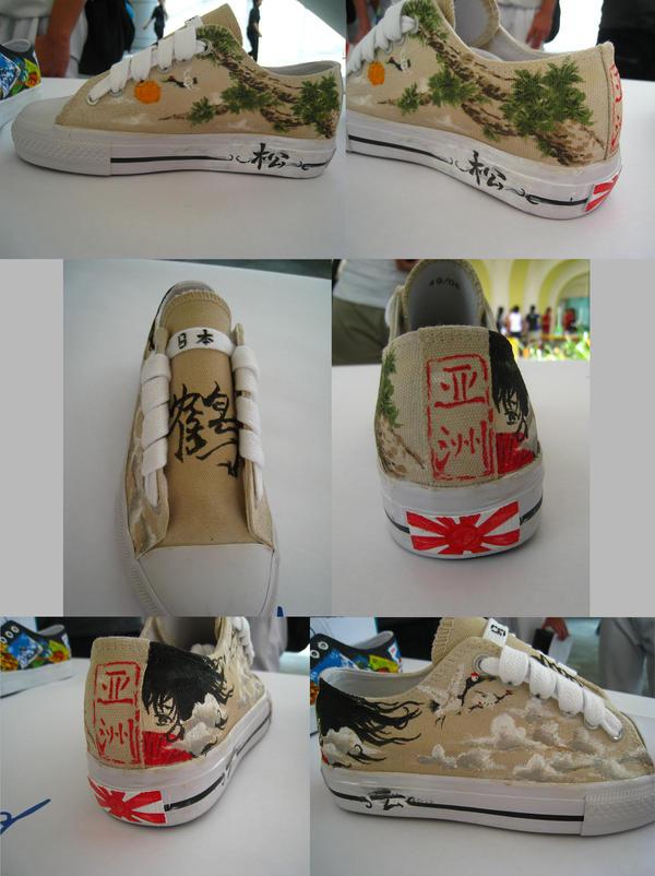 shoe design : ASIA by havockid