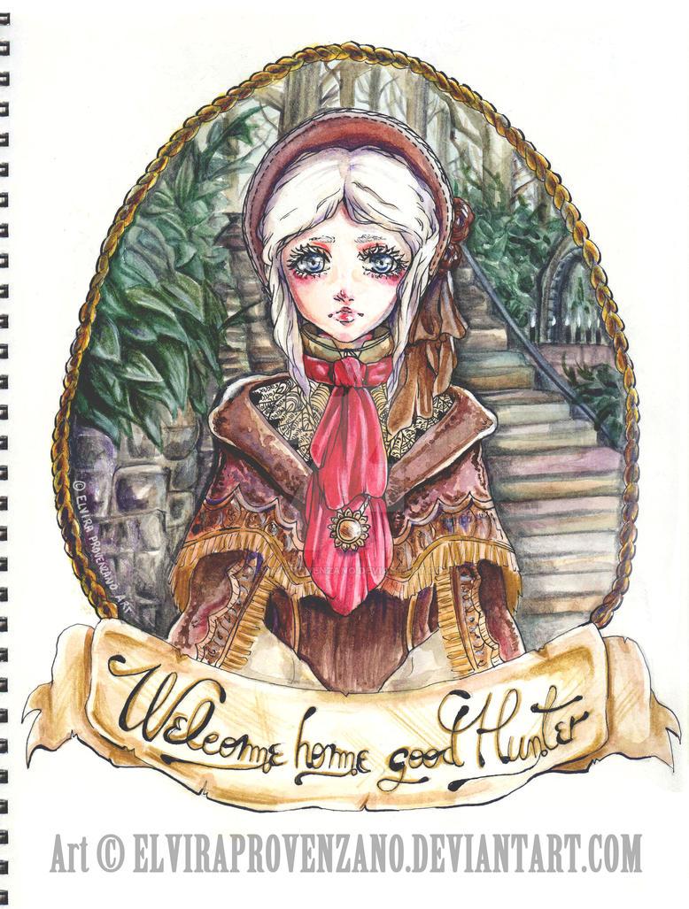 Plain Doll - Bloodborne [FAN-ART] by ElviraProvenzano