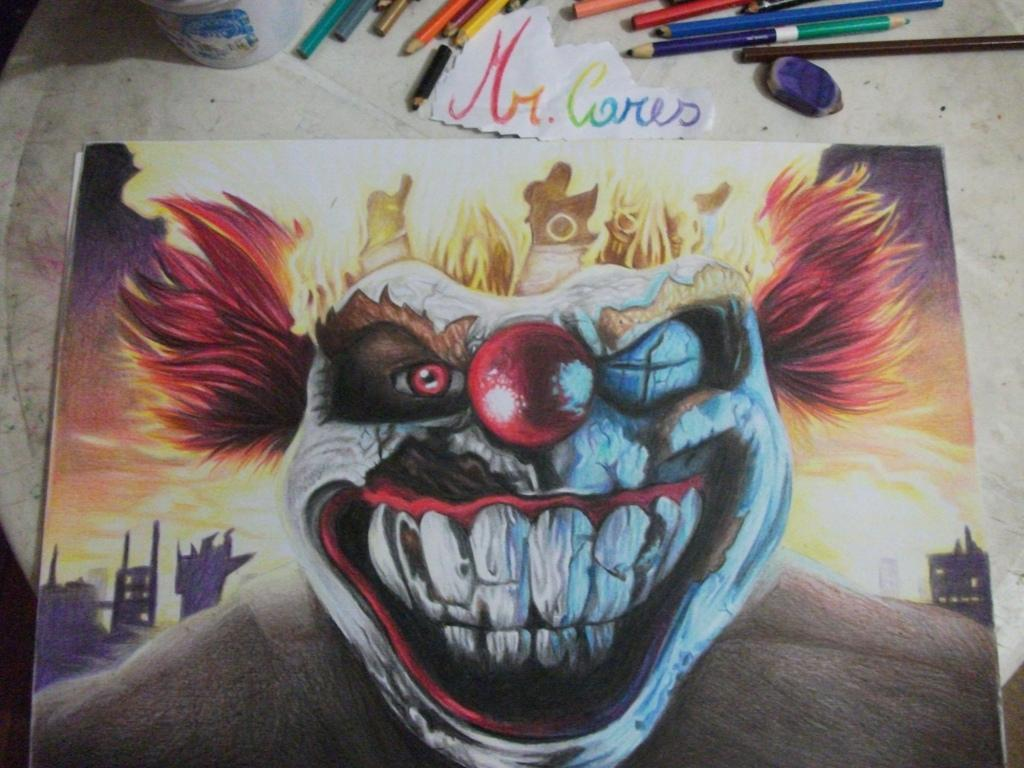 Sweet tooth twisted metal by paulo228123 on deviantart - Sweet tooth wallpaper twisted metal ...