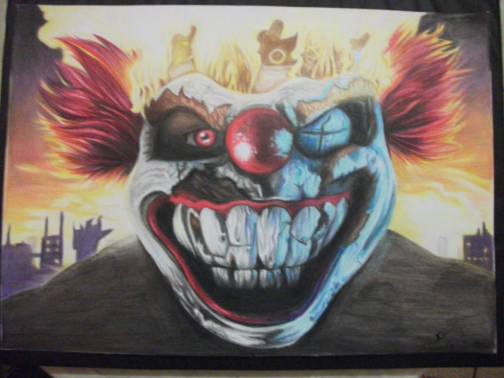 Twisted metal sweet tooth by paulo228123 on deviantart - Sweet tooth wallpaper twisted metal ...
