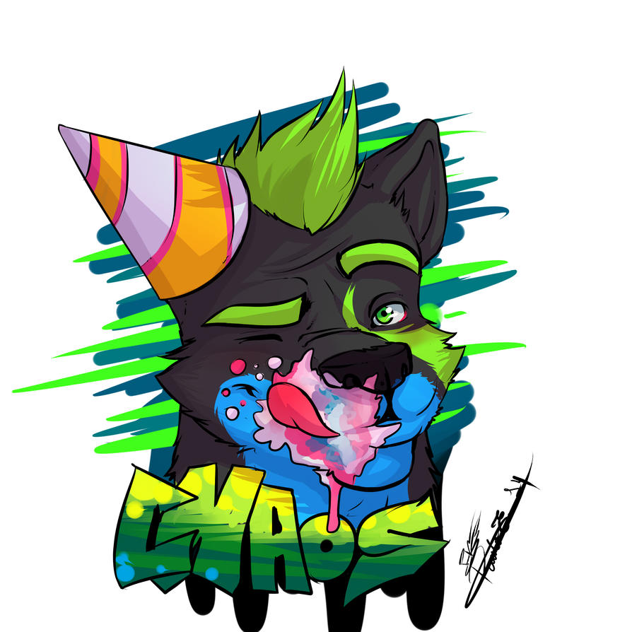 Chaos - Badge by paulo228123