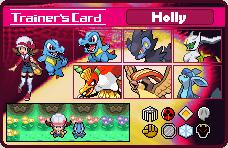 PKMN Trainer Card - Holly by RaspberryFanta