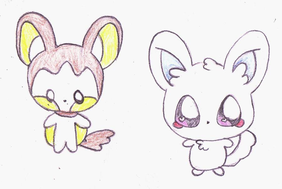 pokemon coloring pages minccino - photo#25