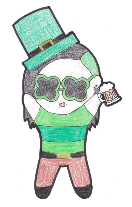 Happy St Patrick's Day! by RaspberryFanta