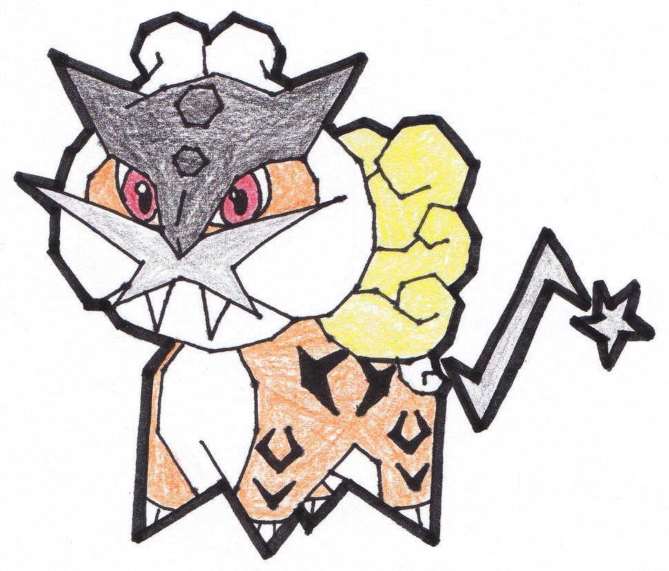 Raikou is ready to Rumble! by RaspberryFanta