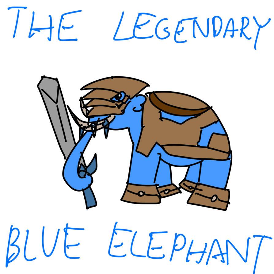 The Legendary Blue Elephant