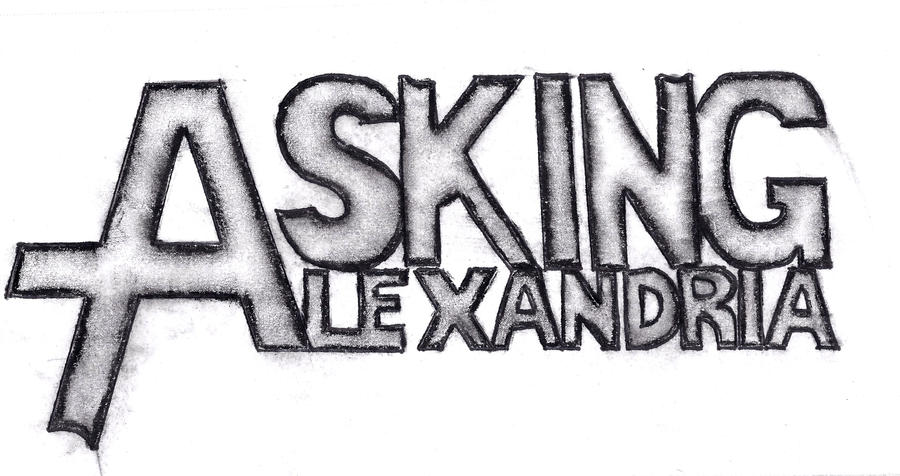 charcoal asking alexandria by ccourtmariee on deviantart rh ccourtmariee deviantart com Arctic Monkeys Band Logo Misfits Band Logo