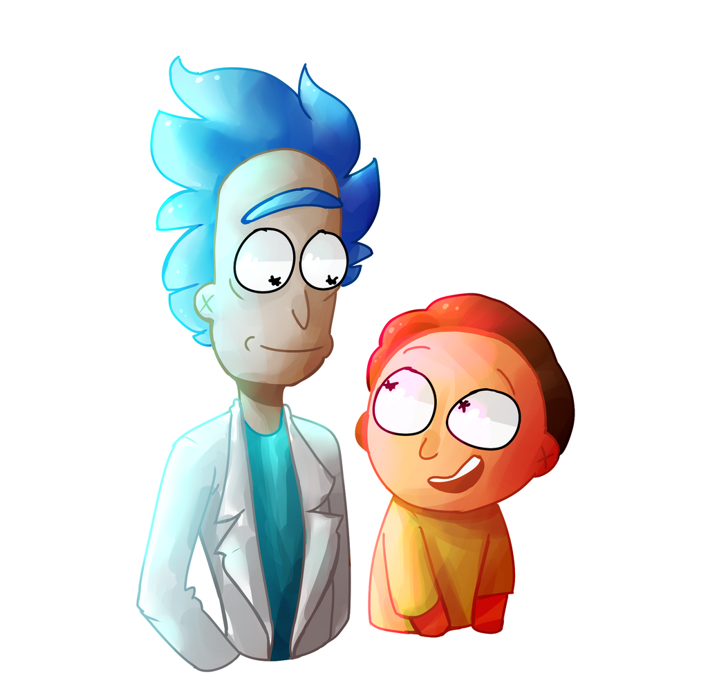 Rick and Morty by Allavarii on DeviantArt