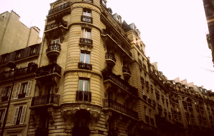 Parisian architecture by jadedianna on deviantart for B isdn architecture