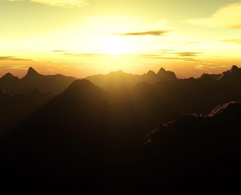 Runing Sun by litlle-rafa