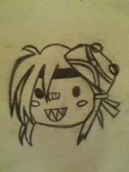 Tiny Tina's drawing of herself