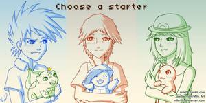 Choose a starter