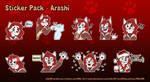 Sticker Pack Commission - Arashi