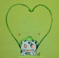 Bulbasaur Wuvs You by Jusbene