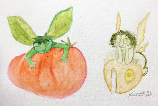 Basil And Parsley fairies