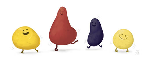 Dancing potatoes