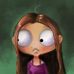 Nervous Girl by ValentinaRDEste