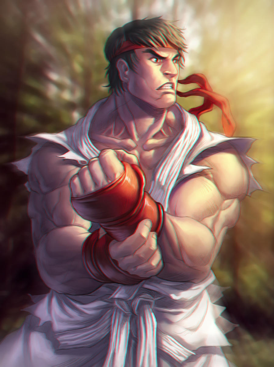 SF ryu by DXSinfinite