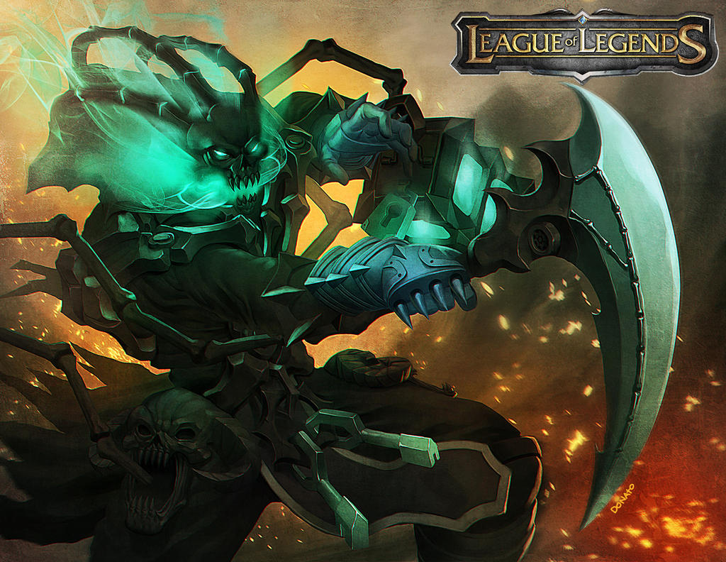 league of legends thresh by DXSinfinite