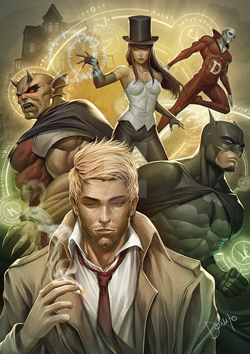 justice league DARK by DXSinfinite