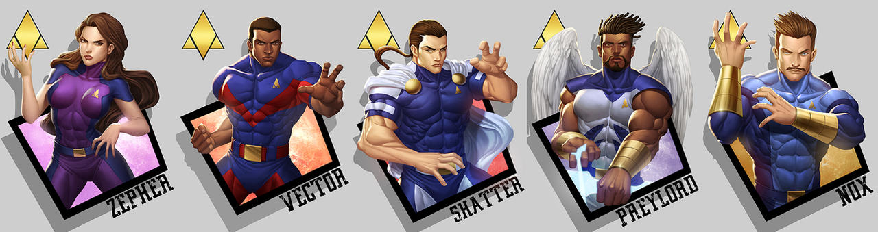 vindicator characters