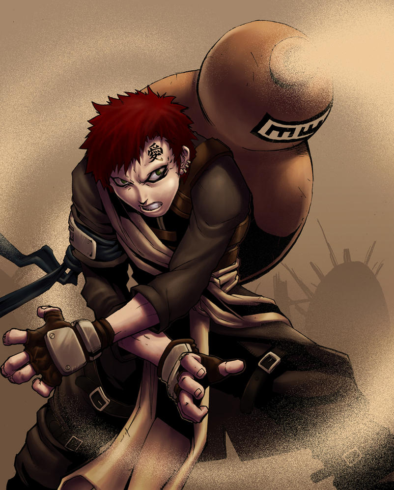Gaara... By DXSinfinite On DeviantArt