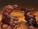 ryu vs. sagat part ll