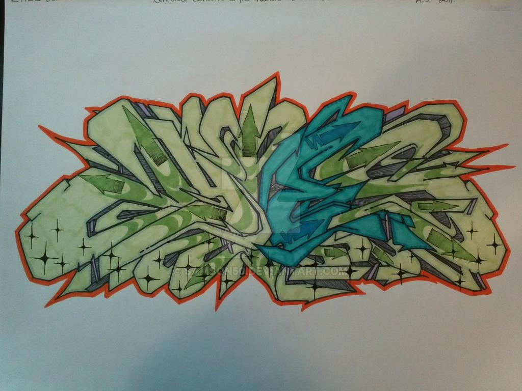 ZYTES Wildstyle Semi-Simplistic by Samson50
