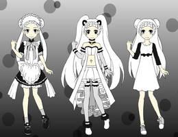 Tokyo Mew Mew character creator by Hapuriainen on DeviantArt