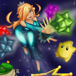 Rosalina and Luma - Super Mario Galaxy