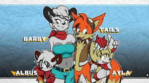 What if ... Tails married Barby? (Alt. version)
