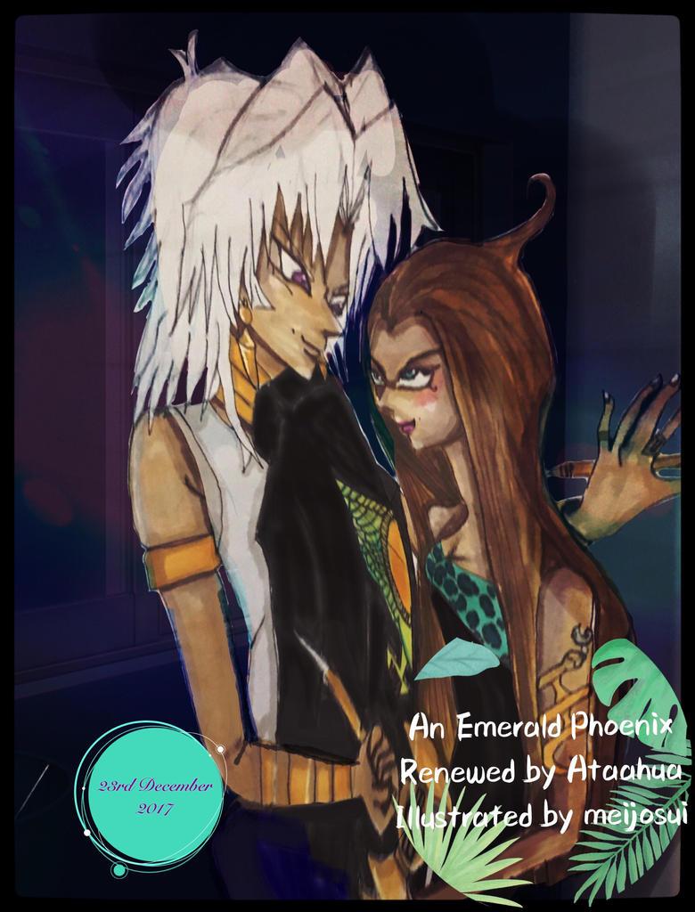 AEPRMarik and Mirah Phoenix (Benu) by elfyjello