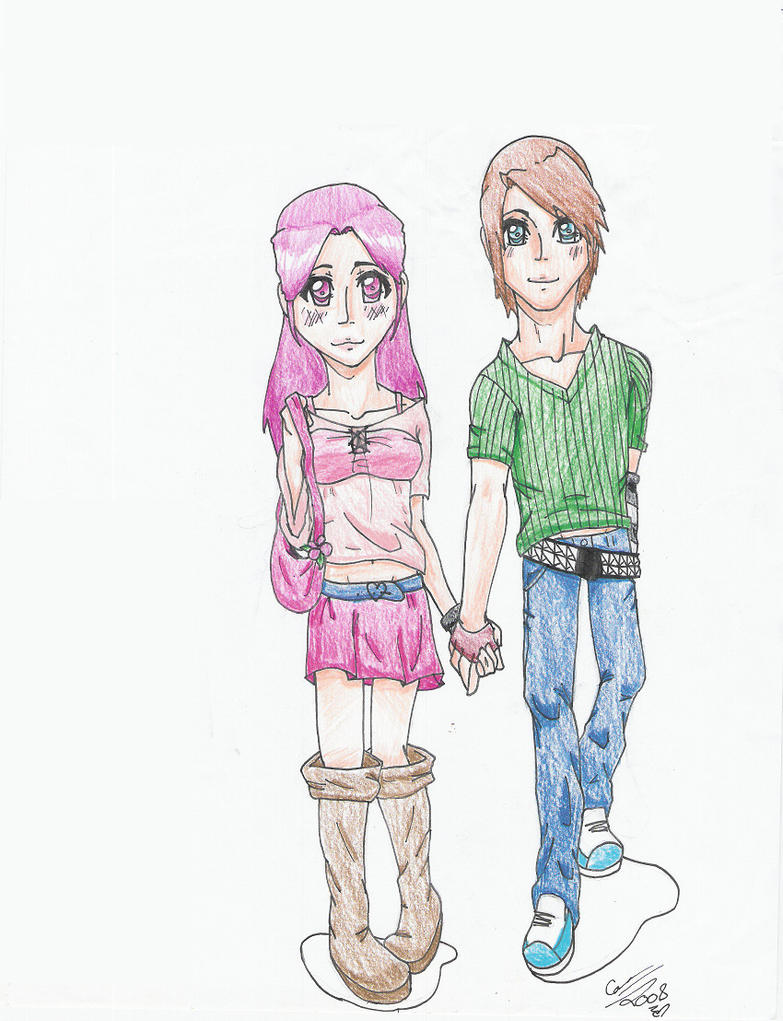 Anime Couple D By Angel Baby Love