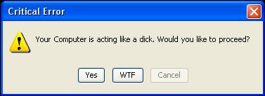 Windows Message by IceshadowWARRIOR