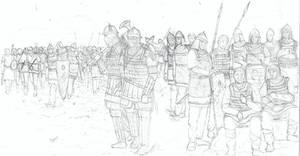 Eastern Roman Infantry by EmirHamam