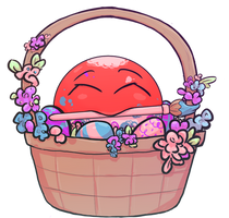 Voltorb   Spring Pokemon Collab by Kim-cat3120
