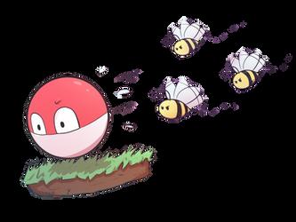 Voltorb || Animal Crossing/Pokemon Collab
