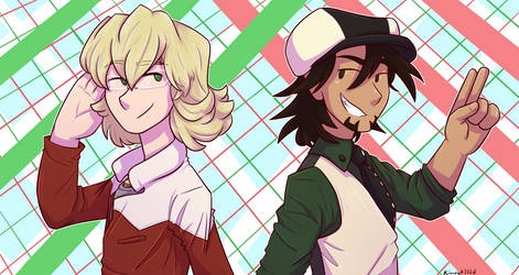Tiger and Bunny, over and out