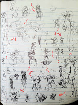 Doodle Sheet 42