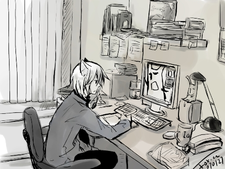working environment by shirleyfoxcc