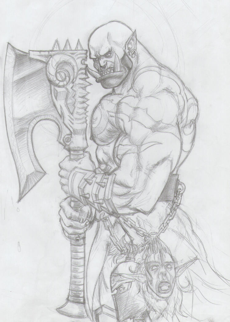 Garrosh, The Warchief by JohnRamb0