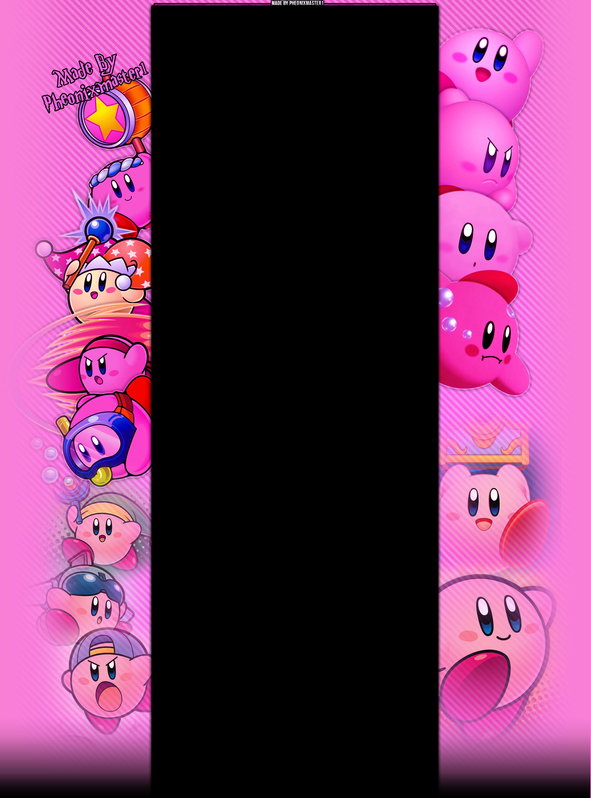 Kirby Youtube Background by Pheonixmaster1