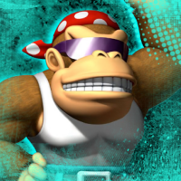 Funky Kong Avatar or Icon by Pheonixmaster1