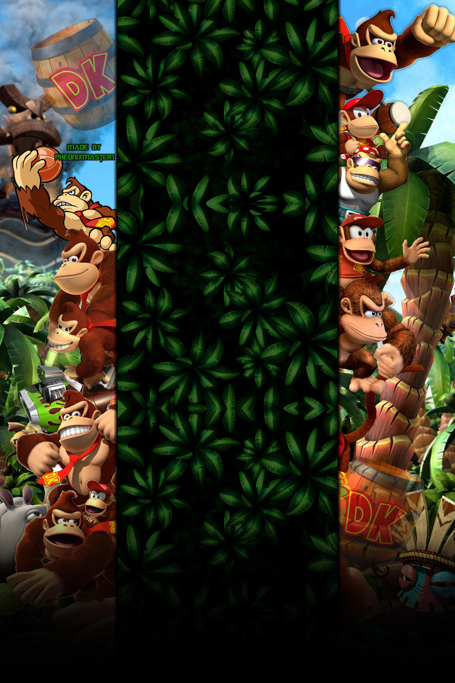 DK Youtube Background by Pheonixmaster1