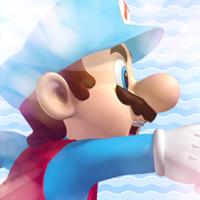 Ice Mario Icon by Pheonixmaster1