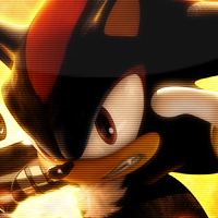 Shadow the Hedgehog icon by Pheonixmaster1