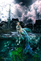 Mermaid Drowning - Fantasy Series by StudioCMC