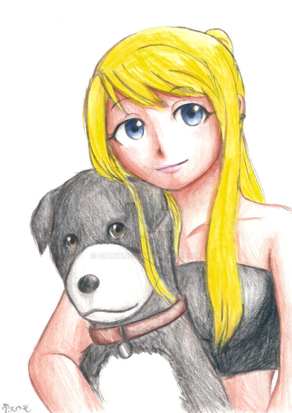 blonde den winry and - photo #1