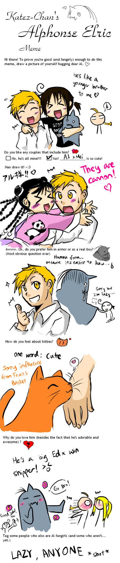Alphonse meme X3 by qianying